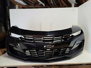 2019 2020 2021 Chevy Camaro Ss Front Bumper Assembly With Fog Oem Black