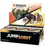 M.t.g Magic The Gathering Jumpstart Booster Box | 24 Packs Ready-to-ship