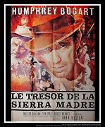 Treasure Of The Sierra Madre 4x6 Ft French Grande Movie Poster Original 1948