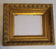 19th Century Museum Quality Picture Frame Exclusive Fits 9 X 12 Photo-artwork