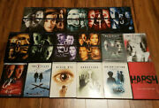 /2190 The X-files Complete Seasons 1 2 3 4 5 6 7 9 10 And 11 Films Realm Dvd Lot
