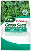 Scotts Turf Builder Grass Seed Centipede Grass Seed And Mulch- 5 Lb., Grows In