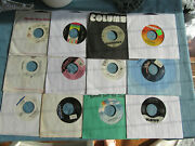 Lot Of 44 Country 45 Rpm Vinyl Records