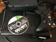 Microsoft Xbox 360 Slim Console 250gb With Game Hdmi And Power Cable Black
