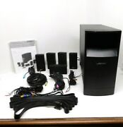 Bose Acoutimass 10 Series Iv 5.1 Surround Stereo Speaker System W/ Sub