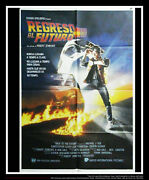 Back To The Futur 27x40 Spanish One Sheet Movie Poster Original 1985