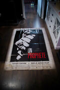 A Prophet Jacques Audiard 4x6 Ft French Grande Movie Poster Original 2010