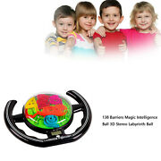 Digital 3d Maze Ball Steering Labyrinth Magic Intellect Puzzle Toys Ca