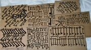Big Collection Lot Of Old Antique Vintage Keys Rustic Home Decor Small And Large