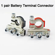12 V Automotive Top Post Car 3 Way Battery Wire Cable Terminals Clamp Connectors
