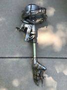 1938 Johnson Ms38 Outboard Motor For Parts Or Repair