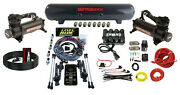 Level Ride Height + Pressure Airmaxxx Black 480 Air Management Kit Complete Wire