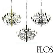 Flos 2097/30 Light Bulbs Chandelier Iron A Hanging Dimmable By Gino S