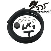 Pcv Reroute Kit With Resonator Plug For Duramax Diesel Lly Lbz Lmm 6.6l 04.5-10