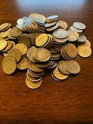 Lot Of 250 90 Silver Roosevelt And Mercury Dimes 25 Face Value