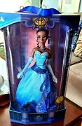 Disney Store Tiana 17 Limited Edition 10th Anniversary Doll Brand New Stunning