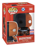 On Hand Funko Pop Imperial Deathstroke Funkon Sdcc 2021 Summer Convention