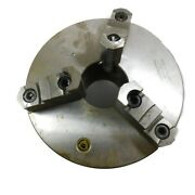 Bison 7-803-1038 10 3 Jaw Self Centering Manual Chuck D1-8 Mount