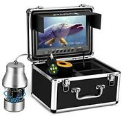 Underwater Fishing Camera Video Fish Finder Dvr Function 9 Inch Large Color
