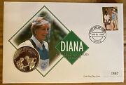 Coin Cover 1998 Diana Contains Zambia 1000 Kwacha Diana Coin Ref051