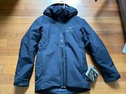 Arcteryx Fission Sv Insulated Gore-tex Jacket Mens, Black, Size Xs New With Tags