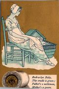 1880's Victorian Trade Card Ad, J And P Coats, Best Six-cord Thread