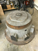36 Diameter Vintage Wooden Wood Industrial Foundry Mold Sand Casting Pattern