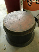 29 Diameter Vintage Wooden Wood Industrial Foundry Mold Sand Casting Pattern