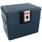 First Alert File Chest With Key Lock, Water And Fire Protector, 0.62 Cu.ft.