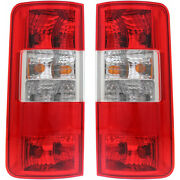 For Ford Transit Connect Tail Light 2010-2013 Lh And Rh Pair/set Capa Fo2800225