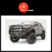 Fab Fours For 2016-2017 Toyota Tacoma Tt16-b3650-1 Premium Winch Front Bumper