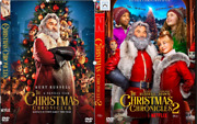 The Christmas Chronicles 1 And 2 2 Dvdand039s Netflix Kurt Russell Goldie Hawn