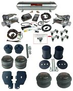 3p 27685 Air Lift Complete Air Ride Suspension Kit W/chrome 480 For 65-70 Impala