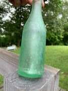 Meridian Mississippi Straight Sided Green Coca Cola Bottle Root 13