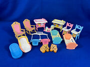 Fisher Price Loving Family Dream Dollhouse Twin Blue Boy And Pink Girl Baby Set