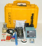 Weller Wtcpt Soldering Station Pu120t And Tc201t Iron W/ Standtips And Case