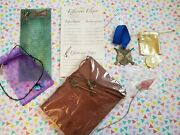 Harry Potter Rare Wizarding Trunk New Lot Of 7 Journal Hagrid Cosplay Luna Props