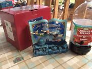 V Rare Disney Tradition Peter Pan Storybook 'off To Neverland' Boxed With Tags