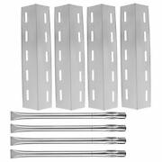 4-pack Replacement Repair Kit For Nexgrill 720-0133 Stainless Steel Burner