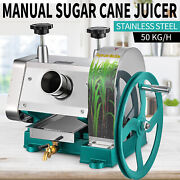 Manual Sugar Cane Press Juicer Juice Machine Commercial Extractor Mill 50kg/h