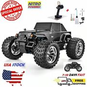 110 Scale Off-road Rc Monster Truck 4wd High-speed Nitro Gas Remote Control Car