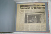 Vintage Newspaper Clippings Scrapbook For El Morocco Nyc Night Clubandrsquos History