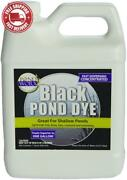 Pondworx Lake And Pond Dye - Black Ultra Concentrated - 1 Quart Treats 1 Acre
