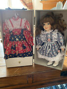 Lasting Impressions Companion Collection 12 Inch Porcelain Doll In Wardrobe