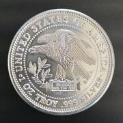 One Troy Ounce Nwtm Silver Eagle Trade Units Pack Of 20