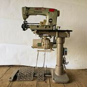 Union Special 63900 M 1-needle, 2-thread Lockstitch Sewing Machine + Table And 110