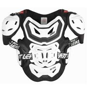 Leatt 5.5 Pro Hd Chest Protector Acu Ce Approved Motocross White Adult One Size