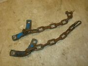 1970 Ford 2000 Tractor 3pt Sway Check Chains