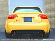 Awe Tuning Fit Audi B7 Rs4 Track Edition Exhaust - Diamond Black Tips