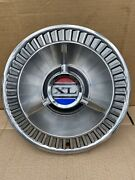 One 1964 64 Ford Galaxie Xl 500 Hubcap Wheel Cover Center Cap Fomoco Vintage